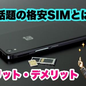 今話題の格安SIMとは?メリットやデメリットを解説【初心者】