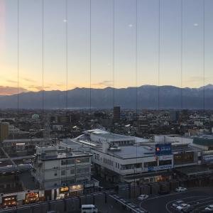 こんな時に申し訳ないのですが松本市に来ました