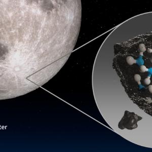 【NASA   海外科学英語記事】月面の日の当たる場所で水を発見! ― NASA's SOFIA Discovers Water on Sunlit Surface of Moon