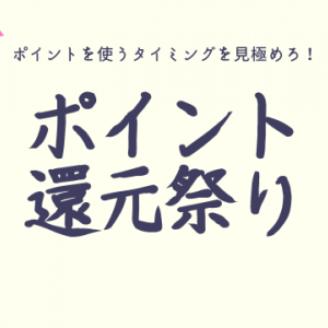 【ポイ活】毎月20日はポイント大活用チャンスデー!還元祭り!