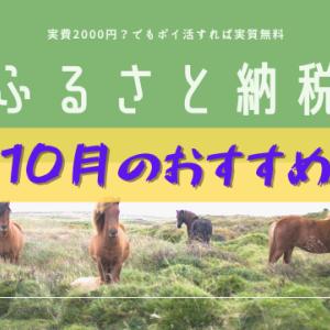【2020】ふるさと納税10月のおすすめ返礼品(食べ物)
