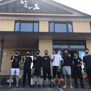 JR北海道バドミントンチームが宿泊に来てくれました~!!!