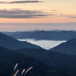 雲の上の朝