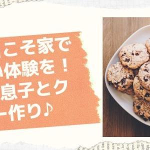 3歳の子供との雨の日の過ごし方!クッキーを作ってみたお話