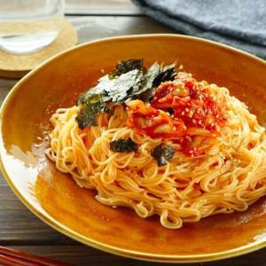 いつもの味を韓国風に♪レンジで簡単「そうめんでビビン麺」