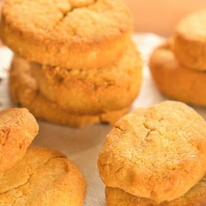 おからパウダーで糖質オフ♡「サクほろ♪レモンクッキー」