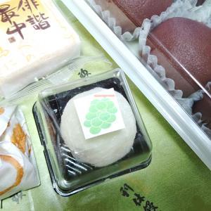 利休饅頭と赤福氷