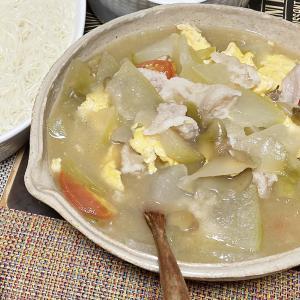 父ちゃん料理「冬瓜の煮物」