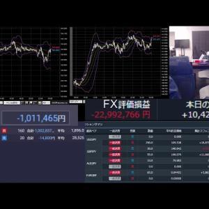 FX配信!空売りミスったわ(垂れ流し雑談)(2021/01/19) #FX #投資
