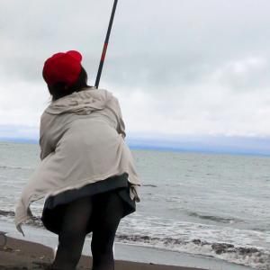 北海道の石狩でタカノハ釣りに行ってみたよ
