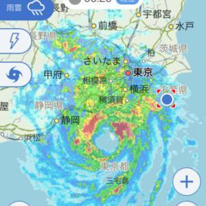 まだまだ台風には注意が必要