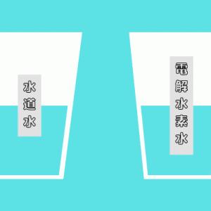 【比較検証】水道水と電解水素水の違いが分かる簡単な実験をしてみた!結果はどーなる!?