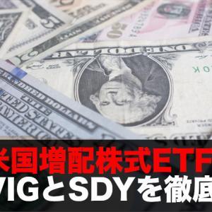 米国増配株式ETFのVIGとSDYを徹底比較