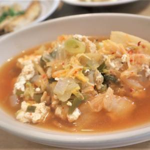 ホットクックでスンドゥブ作ったらほぼキムチ鍋になったけどスープ美味い