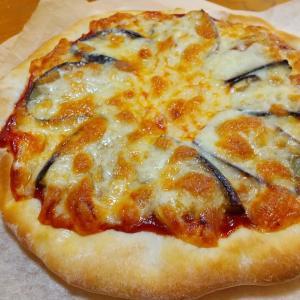 『ナスとチーズでピザ』とか