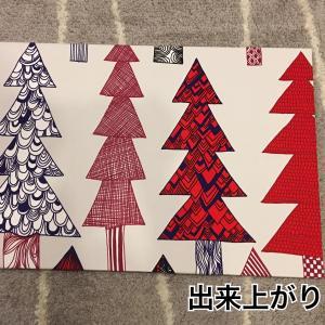 marimekko(マリメッコ)#クリスマス#ファブリックパネル#DIY