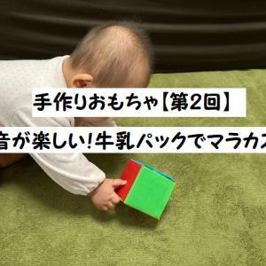 【手作りおもちゃ第2回】牛乳パックで簡単・楽しいマラカス♪