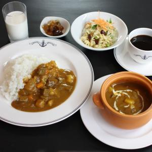 【よこすか海軍カレー】食べ放題ランチ&世界三大記念艦【みかさ】を見学