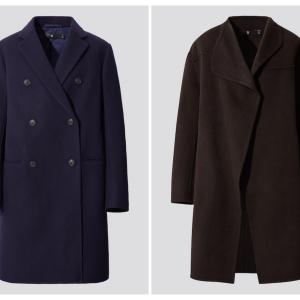 ユニクロ【+J】人気コート2着のサイズ感を確かめてみました
