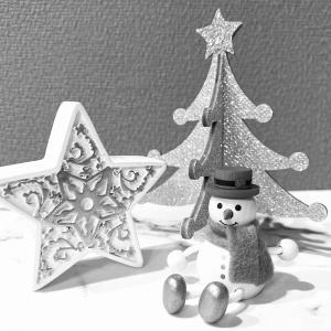 クリスマスの飾り付けはコレだけ