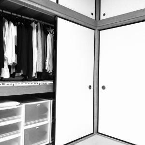 押入れをクローゼットにDIY&襖を折れ戸にリフォーム【実家の老前整理③】