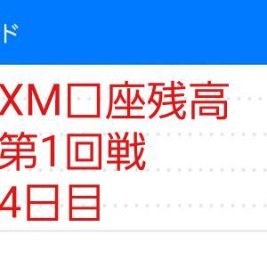 4日目 XM口座残高75,230円 ハイレバFXトレードXM口座残高報告 (第1回戦)