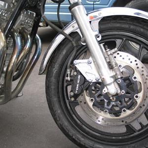 GSX750E2 ブレーキ強化