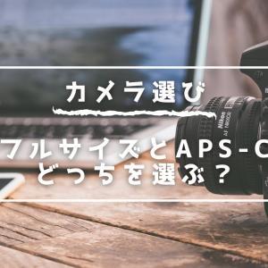 【カメラの選び方】カメラのセンサーサイズって何?|フルサイズとAPS-Cで変わる明るさやボケ