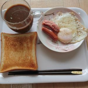 ダイエット24日目(朝ごはん)