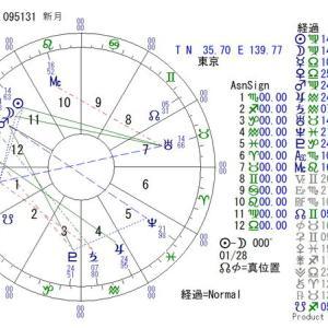 ■新月:2021年9月7日 09:51:31(東京)