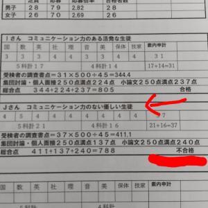 【高校受験】都立推薦入試の不合格者に「親近感しかない!」と思った入試セミナーの資料。