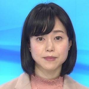 池田伸子さん、全身桜色系の衣装が似合いカワイイ(NEWS7-8:45-首都圏)Feb-27