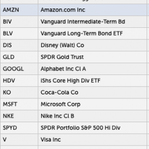 現在の米国株ポートフォリオ(2020/09/11)大公開します!