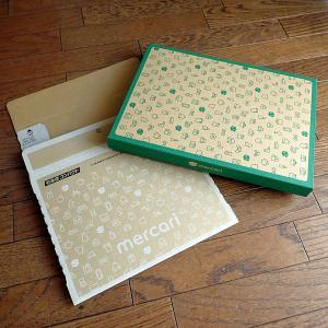 【梱包中】メルカリの箱が可愛すぎな件っ!