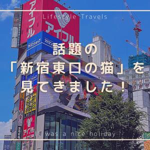 【Vlog】この夏話題の「新宿東口の猫」を見てきました!