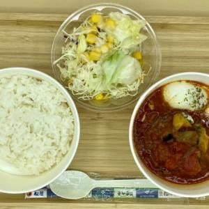 【松屋】「ごろごろ野菜のうまトマハンバーグ定食」をテイクアウト!