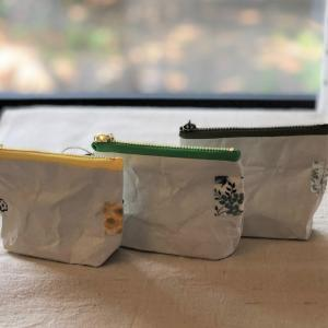【量産】タイベック生地~ハギレ処理でミニポーチを作ってみた