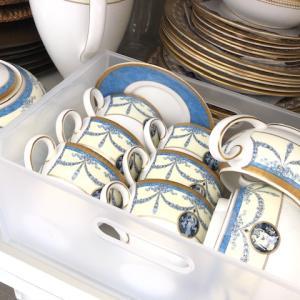 【実録】大量の洋食器はキャビネットの中にまとめて収納