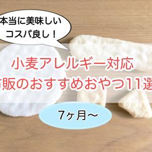 小麦アレルギー対応!市販のおすすめおやつ11選(生後7ヶ月〜)