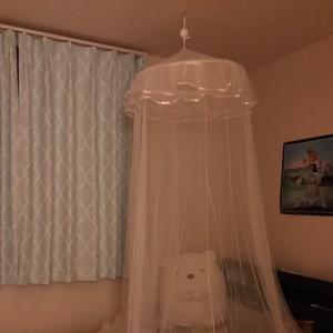 【ニトリ】気分はお姫様な子供部屋