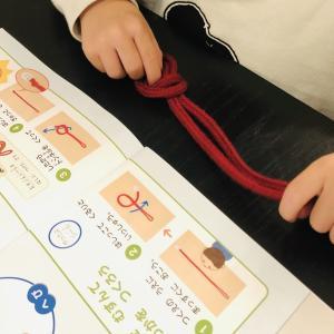 【Z会幼児コース】テキストのように上手くはいかない体験型ワーク