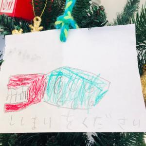 サンタクロースを楽しませる長男からの手紙