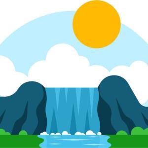【袋田の滝】秋の日本三大名瀑「袋田の滝」にトイプードルとでかけてきたよ!