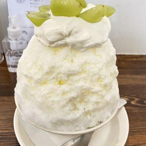 【八幡山】ナイス&ウォーム(nice&warm)~かき氷/シャインマスカットフロマージュブラン~