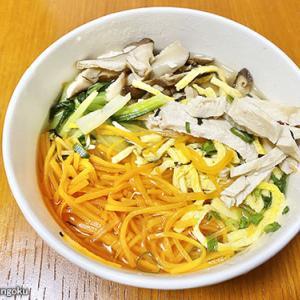 【成城石井】だし汁で食べる!鶏飯&焼売&たこ焼き