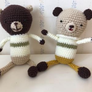 猫と編みぐるみ