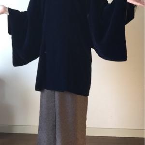 ひいおばあさんの着物はとても小さかった