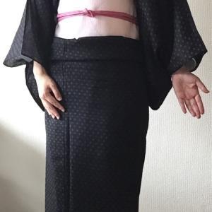 絽の着物、明治の着物