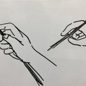 デッサンする時は鉛筆の持ち方を工夫してみよう