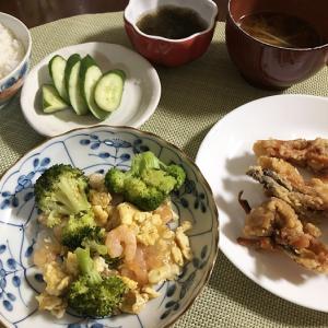 幸せ報告&ブロッコリーと卵、むき海老のあんかけ